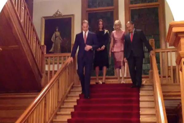 Duke and Duchess Royal reception