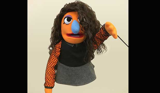 The Lorde Muppet