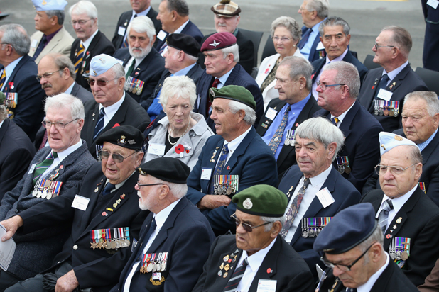 Veterans in Seymour Square