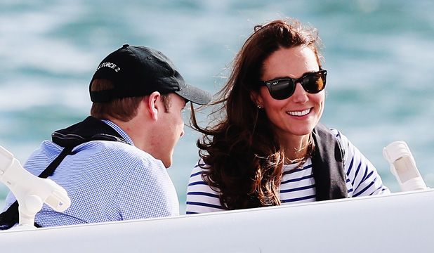 Catherine, Duchess of Cambridge, in Auckland