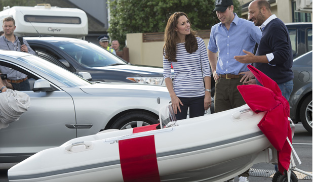 Boat for Prince George