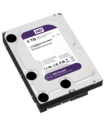 WD Purple Surveillance Storage 4TB