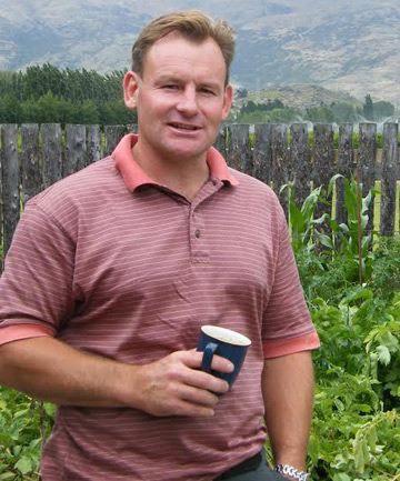 Otago Southland Ballance Farm Environment Award winner Wayne McIntosh.