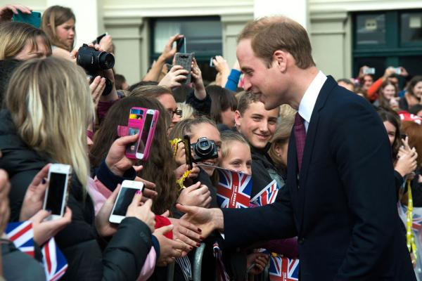 Royal tour in Wellington
