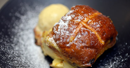 Recipe: Hot cross bun pudding