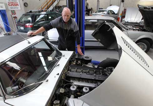 Business is booming for Christchurch's mechanics as pothole-ridden roads take their toll on the city's cars.