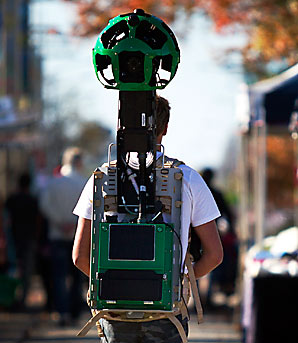 Matt Jenke with Google Trekker