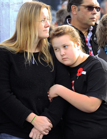 Debbie Griffiths and daughter Hannah Griffiths
