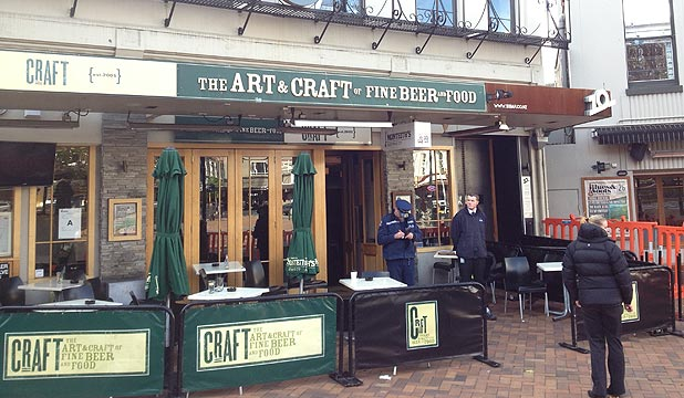 Craft Bar, Dunedin.