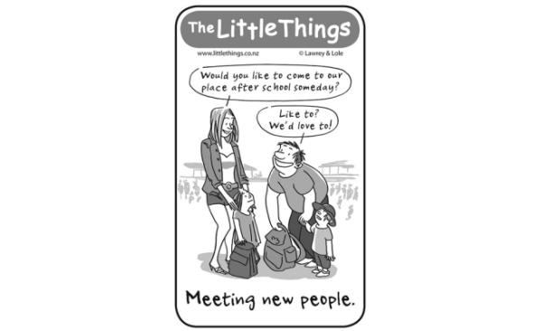 Friday, May 2: Meeting new people