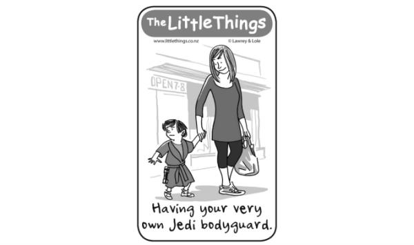 Monday, May 5: Jedi bodyguard