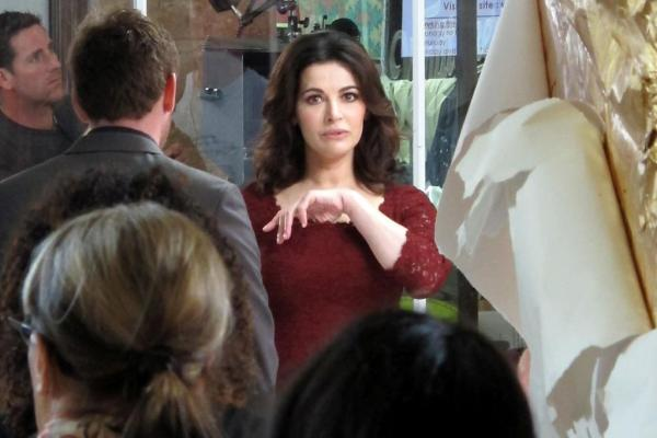 Nigella at Wellington Station