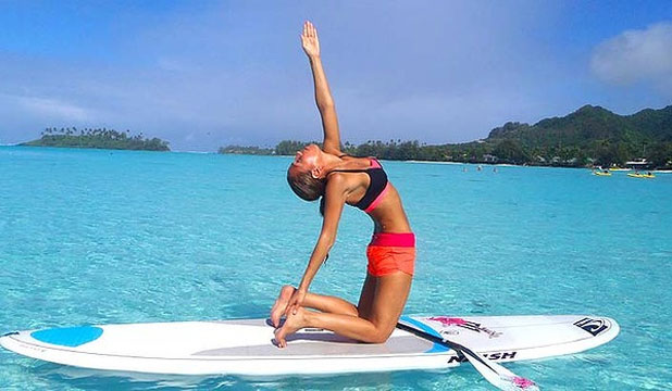 Paddleboarding Yoga Holiday