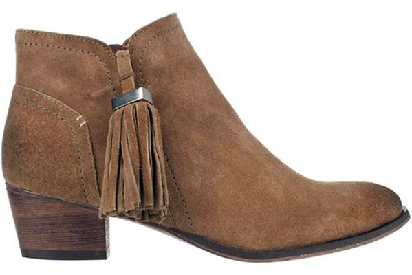 RIVER ISLAND Tassel Trim Ankle Boots