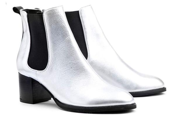 OVERLAND Sanction Silver Boots