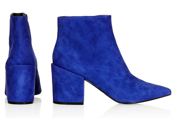 TOPSHOP Aba Pointed Ankle Boots