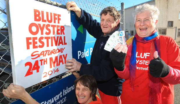 Bluff Oyster and Food Festival