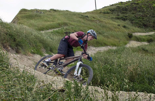 Colonial Knob mountainbike