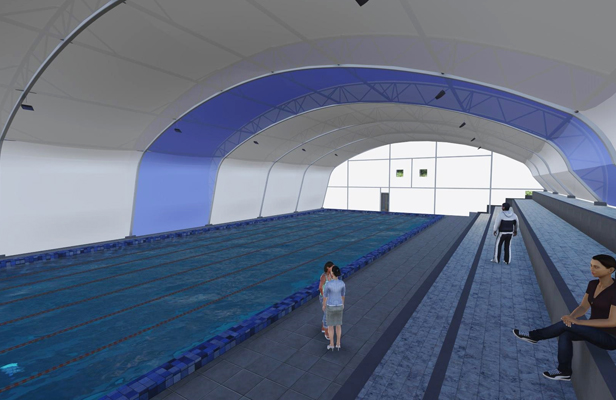 Wellington East pool plans
