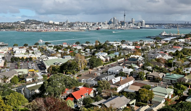 The view from Mount Victoria in Devonport