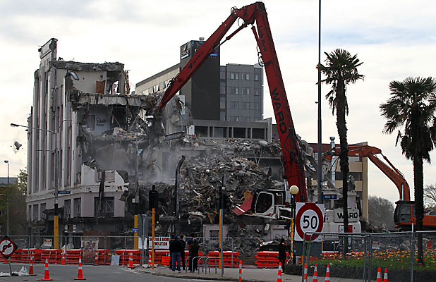 Majestic Theatre demolition