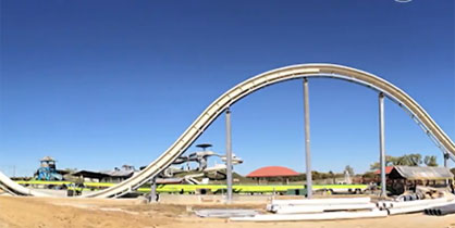 Verrukt Water Slide