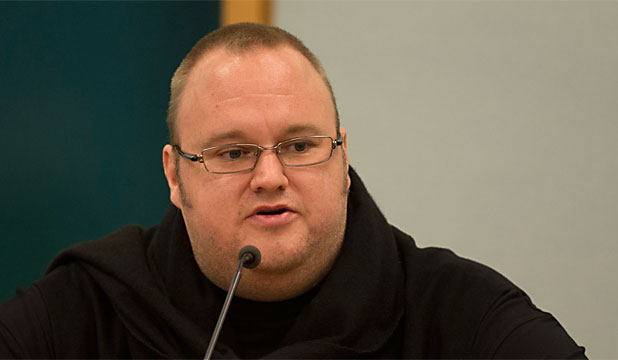 Kim Dotcom at John banks trial