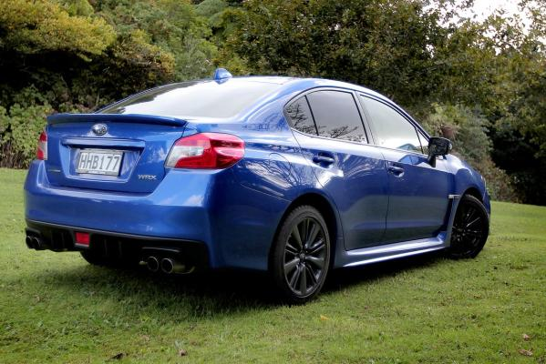 The fourth-generation Subaru WRX.