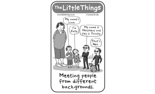 Friday, May 23: Meeting people