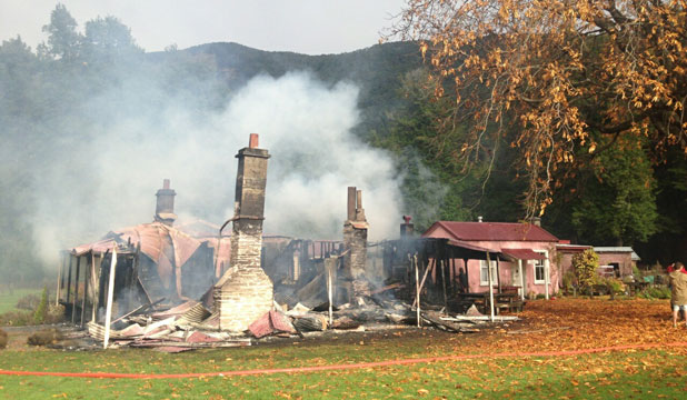 paradise homestead fire