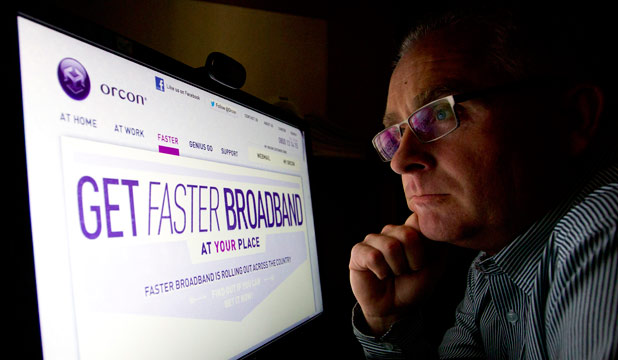 Stephen Barker, super fast broadband
