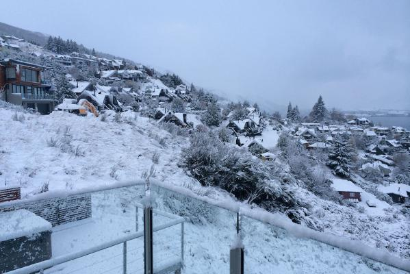 Queenstown snow