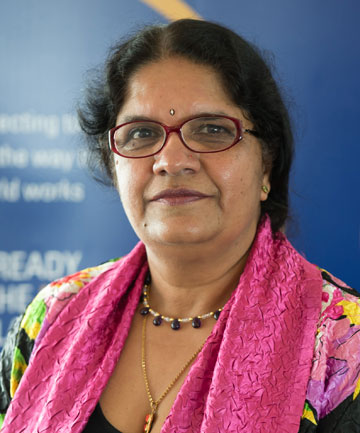 Dr Pushpa Wood