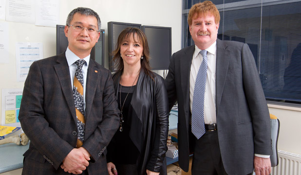 Swee Tan, left, and Peter Devane