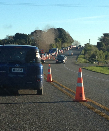 Otaki traffic QB weekend