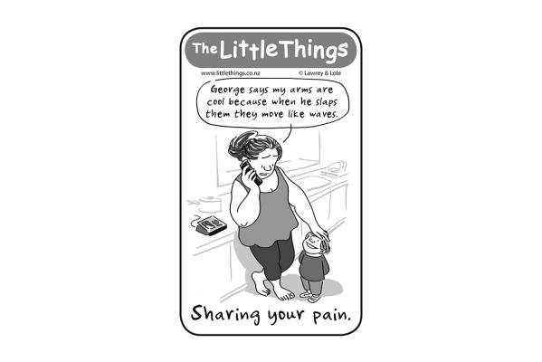 Tuesday, June 3: Sharing your pain