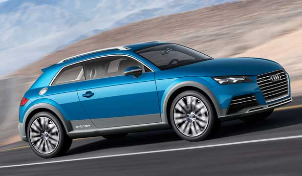 Audi All-Road Shooting Brake concept