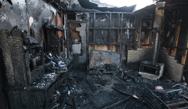 Whitby house fire