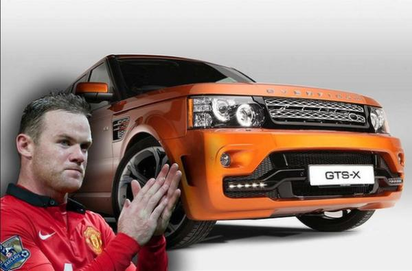 Wayne Rooney keeps it close to home with his Range Rover Overfinch.