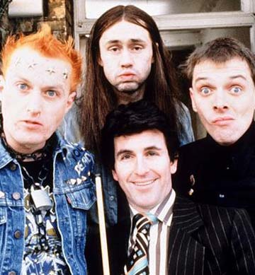 Rik Mayall and the Young Ones