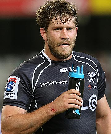 DECISION MADE: Francois Steyn has withdrawn from the Springboks squad but will return to the Sharks when Super Rugby resumes.
