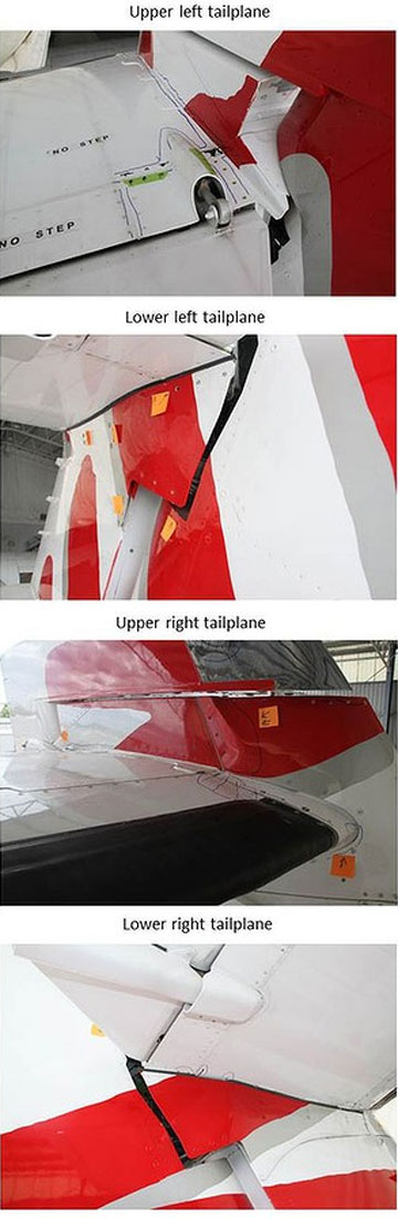 Virgin plane damage