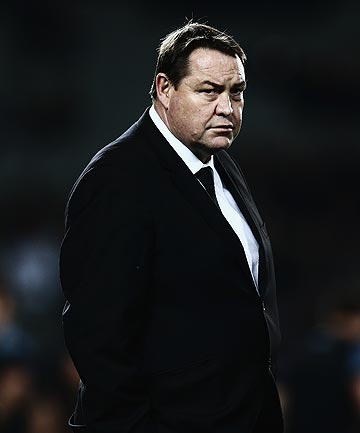 WEARY: All Blacks coach Steve Hansen is expecting the test series against England to be