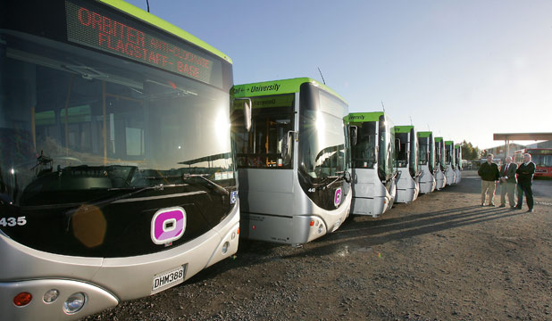 The Orbiter, buses