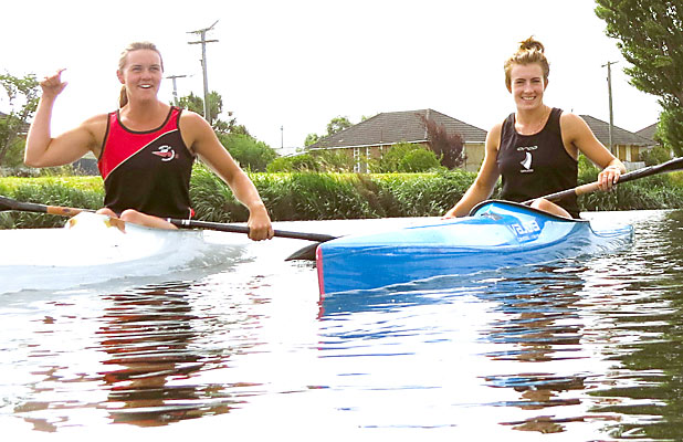 Danielle Currie and Lucy Johnson