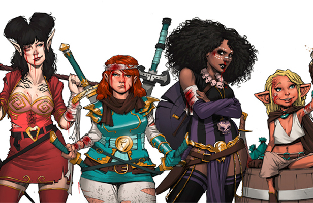 Rat Queens animation