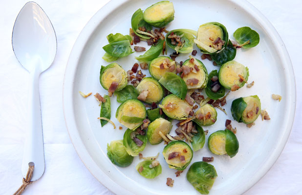 sprouts with bacon