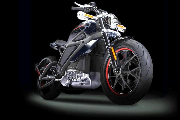 Harley-Davidson's Project Live Wire electric motorcycle prototype.