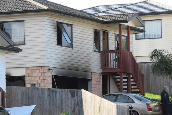West Auckland house fire