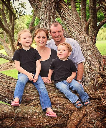 Sterryn Roycroft and family
